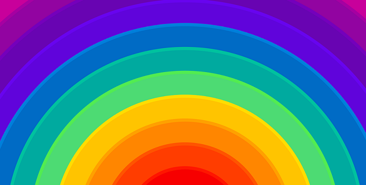Image of the rainbow to represent synthesis. Nature of Synthesis