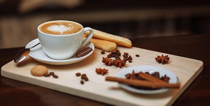 Image of a cup of hot coffee for grounding. Tips for Grounding