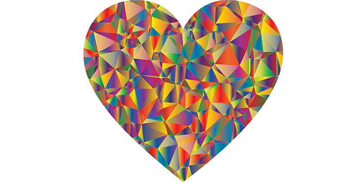 Image of the rainbow prism Multifaceted Jewel of the Heart. The Ascension Process - Part 1