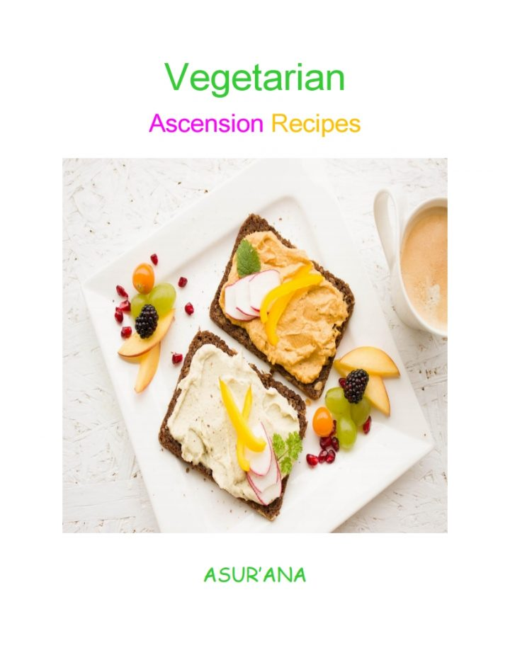 Vegetarian Ascension Recipes Book Cover