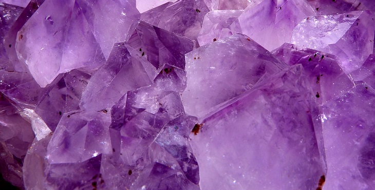 Image of the amethyst crystal. Healing Techniques From The Mineral Kingdom