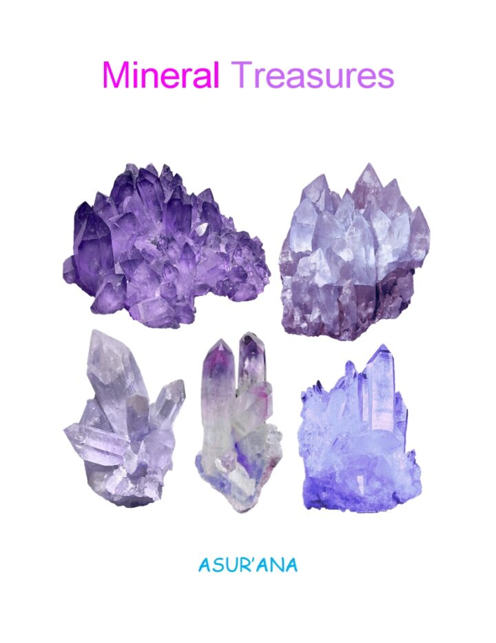 Mineral Treasures Book Cover
