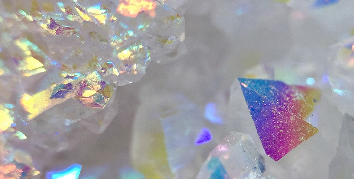 Image of sparkling crystalline sheathe. Partnership Archive #3