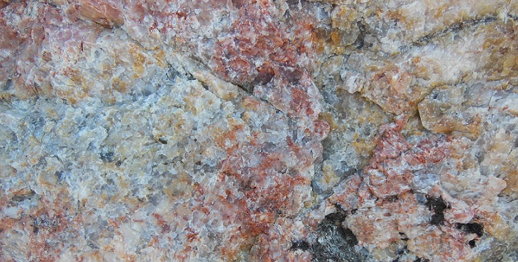 Image of lovely multi-colored granite mineral. Blessings For Entering The Dream Of The Great Central Sun