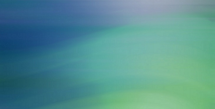 Image of multicolored waves of blue, turquoise and green. Light Wave Archive #19