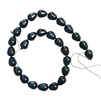 Black Mother of Pearl Beads